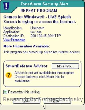 """Overcoming The Malware """"XP Internet Security""""   Rodger's Notes"""