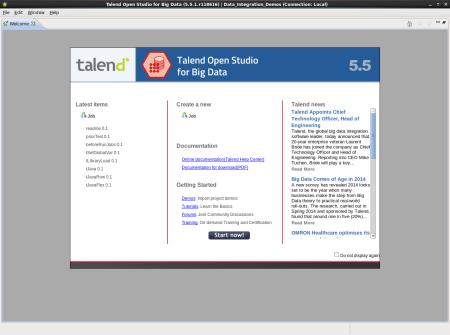 Talend Open Studio 5.5.1