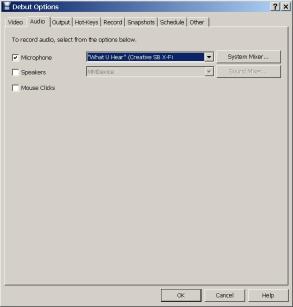 DebutAudioConfig