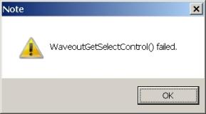 WaveOutGetSelectControl_Failed